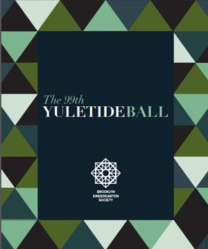 Yuletide Journal 2019 cover - Brooklyn Kindergarten Society