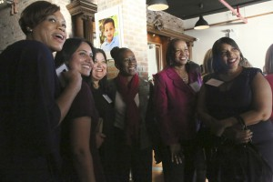 Staff with Chirlane McCray (1)